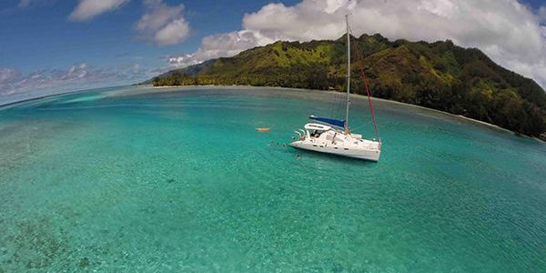 Croisiere Catamaran Tahiti Voile