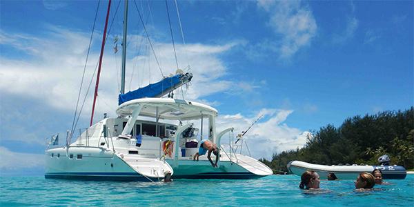 Tahiti Croisiere Catamaran Voile