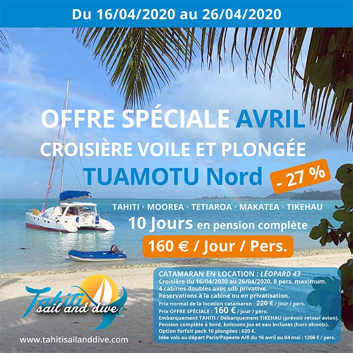 offre croisiere avril 2020