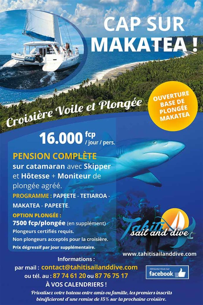 Cap sur Makatea - Croisiere voile et plongee